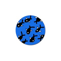 Cute fishes Golf Ball Marker (4 pack)