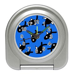 Cute fishes Travel Alarm Clocks
