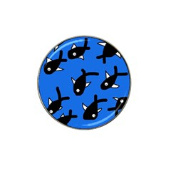 Cute fishes Hat Clip Ball Marker (4 pack)