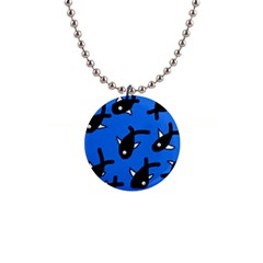 Cute fishes Button Necklaces