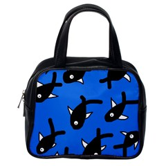 Cute fishes Classic Handbags (One Side)
