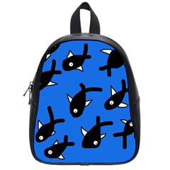 Cute fishes School Bags (Small)