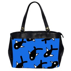 Cute fishes Office Handbags (2 Sides)