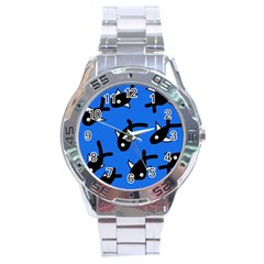 Cute fishes Stainless Steel Analogue Watch