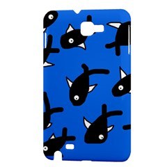 Cute fishes Samsung Galaxy Note 1 Hardshell Case