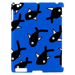 Cute fishes Apple iPad 2 Hardshell Case (Compatible with Smart Cover)