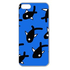 Cute fishes Apple Seamless iPhone 5 Case (Clear)