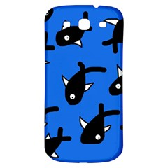 Cute fishes Samsung Galaxy S3 S III Classic Hardshell Back Case