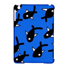 Cute fishes Apple iPad Mini Hardshell Case (Compatible with Smart Cover)