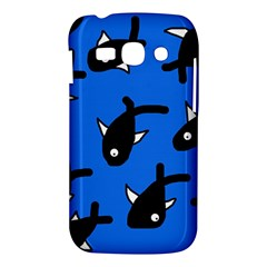 Cute fishes Samsung Galaxy Ace 3 S7272 Hardshell Case