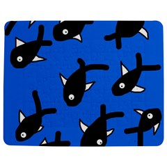 Cute fishes Jigsaw Puzzle Photo Stand (Rectangular)