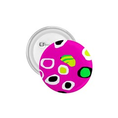 Pink abstract pattern 1.75  Buttons