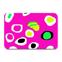 Pink abstract pattern Plate Mats