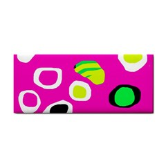 Pink abstract pattern Hand Towel