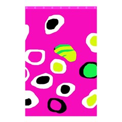 Pink abstract pattern Shower Curtain 48  x 72  (Small)