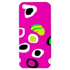 Pink abstract pattern Apple iPhone 5 Hardshell Case