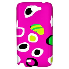 Pink abstract pattern Samsung Galaxy Note 2 Hardshell Case