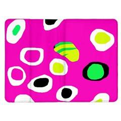 Pink abstract pattern Kindle Fire (1st Gen) Flip Case