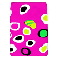Pink abstract pattern Flap Covers (S)