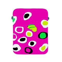 Pink abstract pattern Apple iPad 2/3/4 Protective Soft Cases