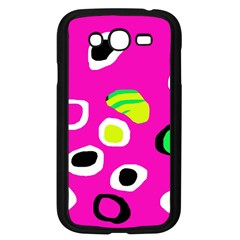 Pink abstract pattern Samsung Galaxy Grand DUOS I9082 Case (Black)
