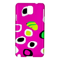 Pink abstract pattern Samsung Galaxy Note 3 N9005 Hardshell Case