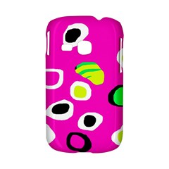 Pink abstract pattern Samsung Galaxy S6310 Hardshell Case