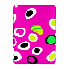 Pink abstract pattern Samsung Galaxy Note 10.1 (P600) Hardshell Case