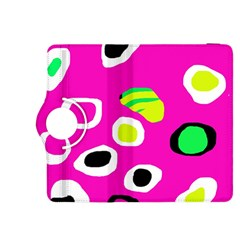 Pink abstract pattern Kindle Fire HDX 8.9  Flip 360 Case