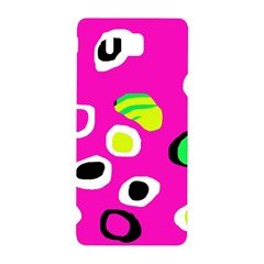 Pink abstract pattern Samsung Galaxy Alpha Hardshell Back Case