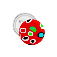 Red abstract pattern 1.75  Buttons