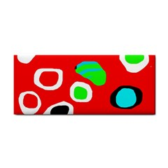 Red abstract pattern Hand Towel