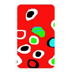 Red abstract pattern Memory Card Reader