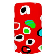 Red abstract pattern Samsung Galaxy Nexus i9250 Hardshell Case