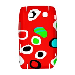 Red abstract pattern Bold 9700