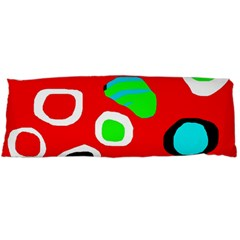 Red abstract pattern Body Pillow Case Dakimakura (Two Sides)