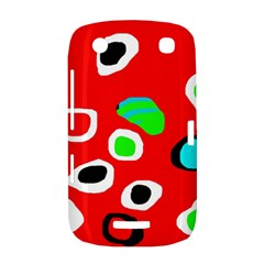 Red abstract pattern BlackBerry Curve 9380