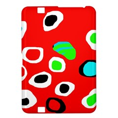 Red abstract pattern Kindle Fire HD 8.9