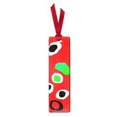 Red abstract pattern Small Book Marks