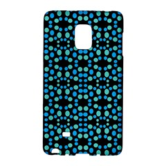 Dots Pattern Turquoise Blue Galaxy Note Edge