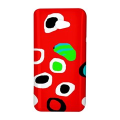Red abstract pattern HTC Butterfly S/HTC 9060 Hardshell Case