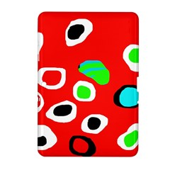 Red abstract pattern Samsung Galaxy Tab 2 (10.1 ) P5100 Hardshell Case