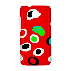 Red abstract pattern HTC Desire 601 Hardshell Case