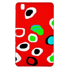 Red abstract pattern Samsung Galaxy Tab Pro 8.4 Hardshell Case