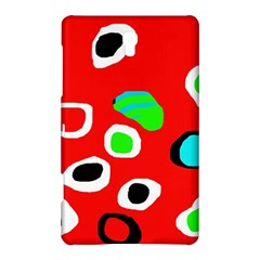Red abstract pattern Samsung Galaxy Tab S (8.4 ) Hardshell Case
