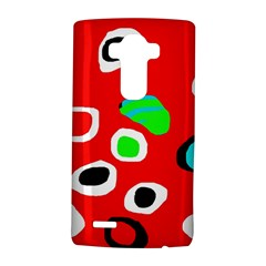 Red abstract pattern LG G4 Hardshell Case