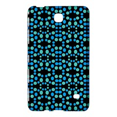 Dots Pattern Turquoise Blue Samsung Galaxy Tab 4 (8 ) Hardshell Case