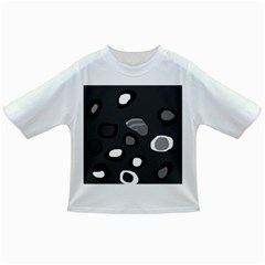 Gray abstract pattern Infant/Toddler T-Shirts