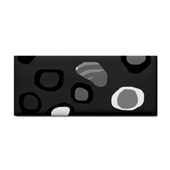 Gray abstract pattern Hand Towel