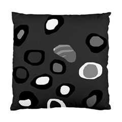Gray abstract pattern Standard Cushion Case (Two Sides)